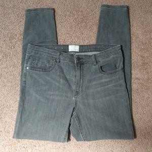 Caslon Nordstrom Dark Grey Skinny Jeans
